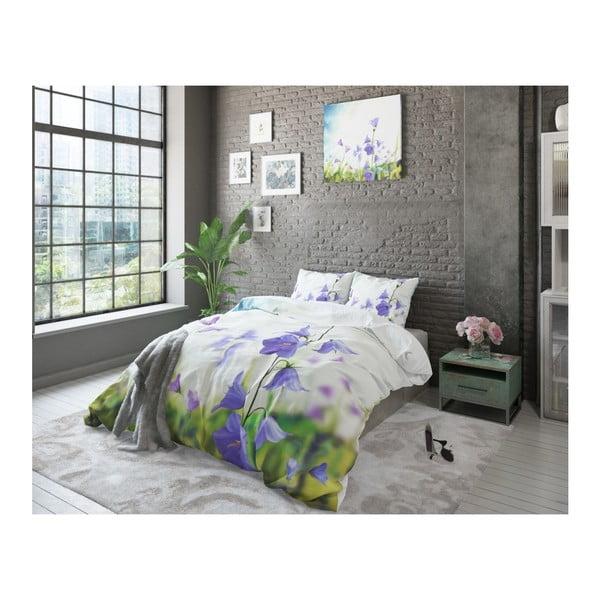 Lenjerie de pat din bumbac Dreamhouse Violet Dream, 200 x 200 cm
