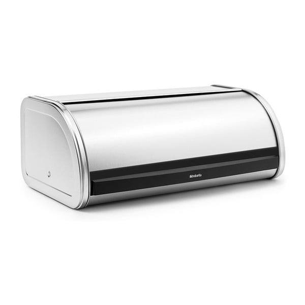 Chlebník ve stříbrné barvě Brabantia Roll Top