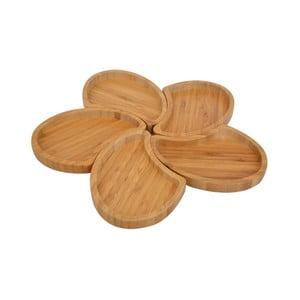 Sada 5 servírovacích misek Bambum Puzzle Snack