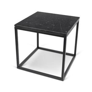 Malý černý stolek TemaHome Prairie Marble
