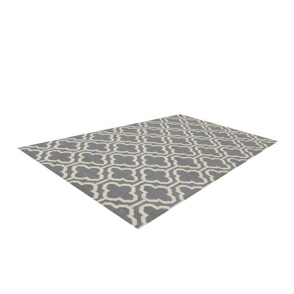 Vlněný koberec Penelope Grey, 140x200 cm