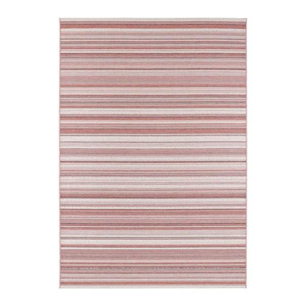 Tmavě růžový koberec vhodný i na ven Elle Decor Secret Calais, 140 x 200 cm