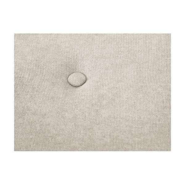 Světle béžová taburetka Kooko Home Motion, ø40cm