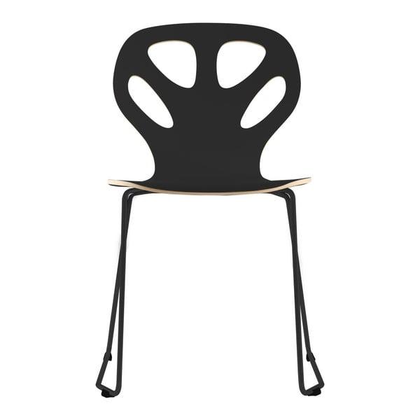 Židle Maple, černá