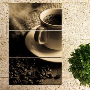 3dílný obraz Šálek kávy
