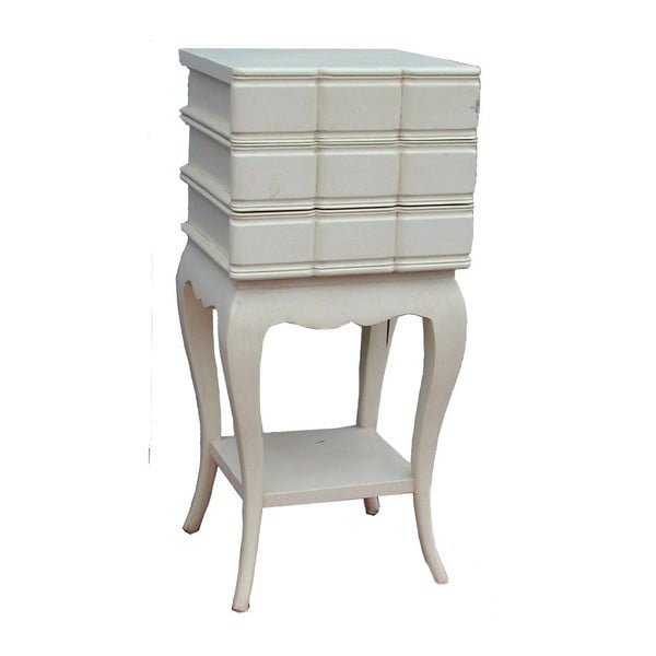 Stůl se třemi šuplíky Vintage, 32x71x32 cm