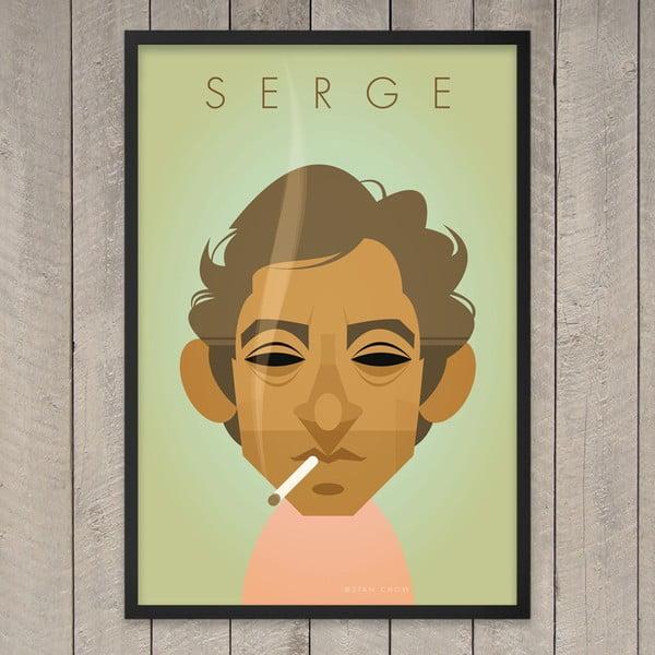 Plakát Serge, 29,7x42 cm
