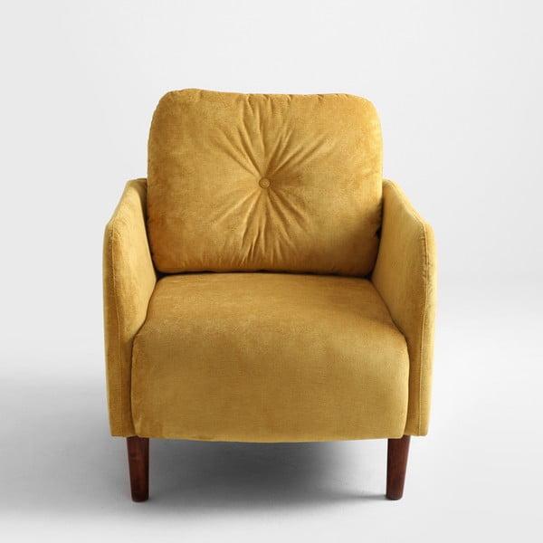 Žluté křeslo Custom Form Hako