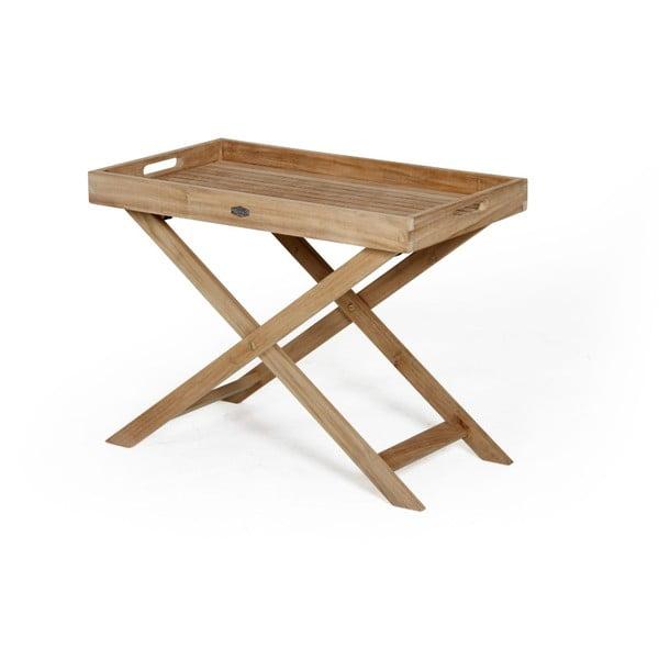 Zahradní stolek s tácem Brafab Turin, výška53cm