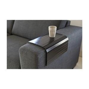 Cotieră flexibilă pentru canapea WOOOD Armrest, negru