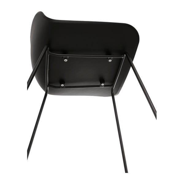 Černá barová židle Kokoon Slade, výška85cm