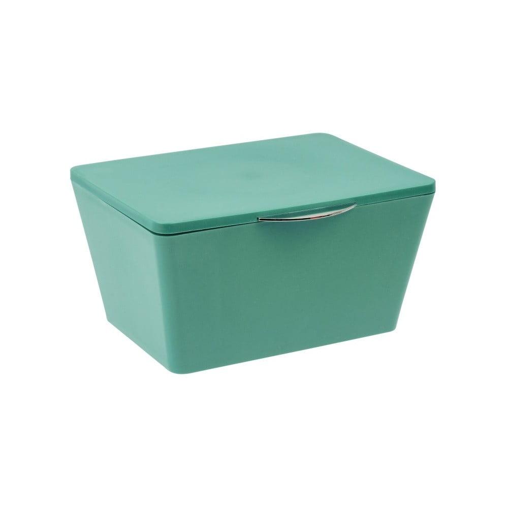 25330b8ea Zelený úložný box do koupelny Wenko Brasil