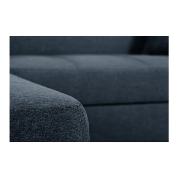 Grafitově šedá sedačka Interieur De Famille Paris Bijou, levý roh