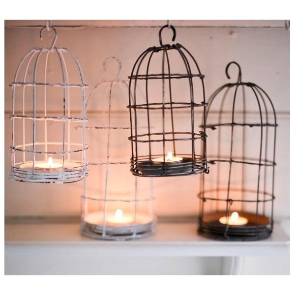 Lucerna Bird Cage Light 19 cm, bílá
