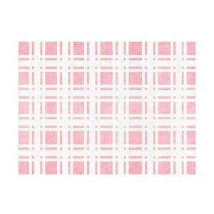 Koberec Escocés 160x120 cm, růžový