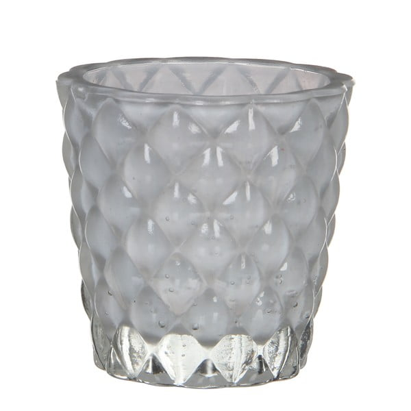 Stojan na svíčku Bent White, 8 cm