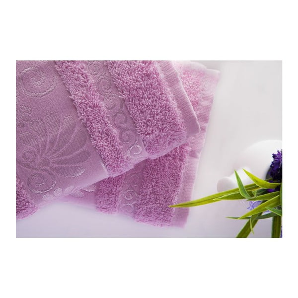 Sada 2ks ručníků Carmen Pink, 50x90 cm