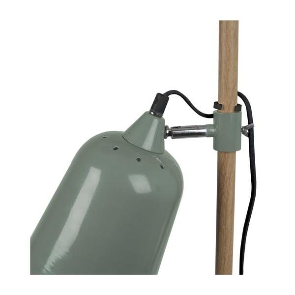 Zelená stojací lampa Present Time ETH Wood