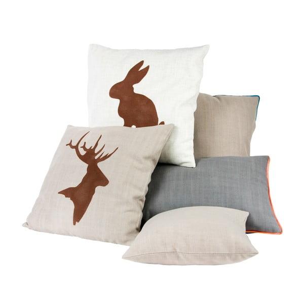 Polštář s králíkem 50x50 cm