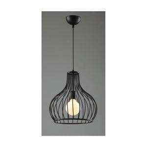 Černé závěsné svítidlo Avoni Lighting Cage Noire