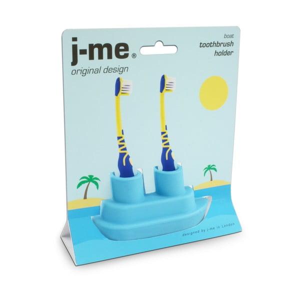 Modrý stojánek na kartáček J-Me Boat
