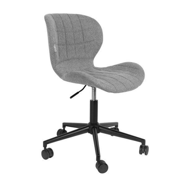 Sivá kancelárska stolička Zuiver OMG