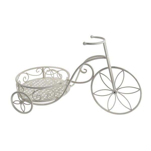 Stojan na květiny White Mini Bike
