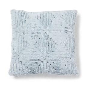 Modrý polštář La Forma Clout,45x45cm