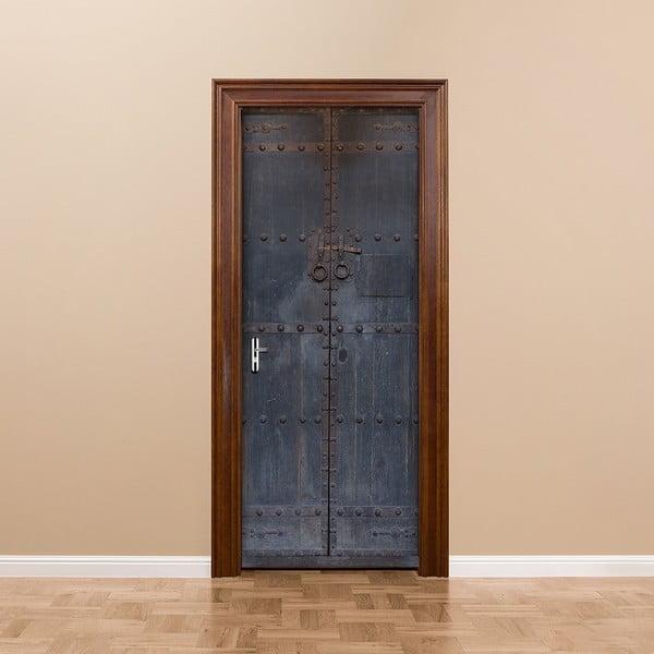 Elektrostatyczna naklejka na drzwi Ambiance Medieval Door, 83x204 cm