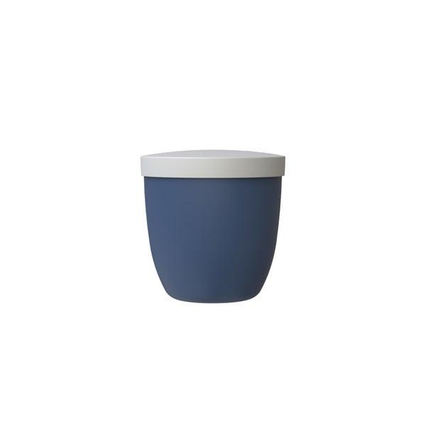 Tmavě modrá svačinová dóza Rosti Mepal Ellipse, 500ml