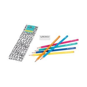 Set 6 creioane Happy Jackson