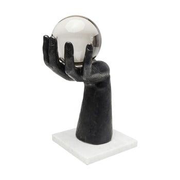 Statuetă decorativă Kare Design Ball Hand, înălțime 31 cm de la Kare Design