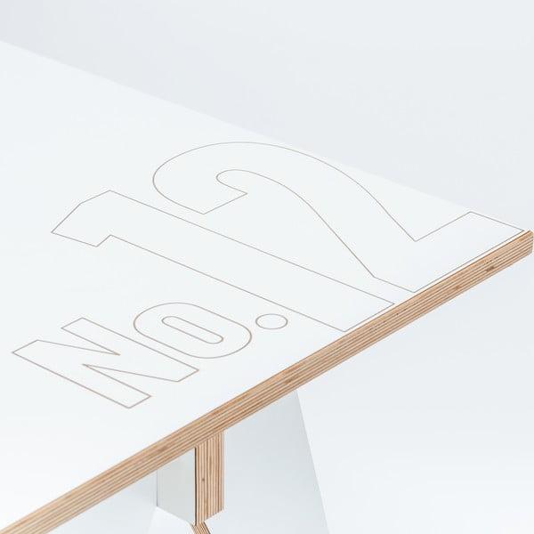 Jídelní/pracovní stůl ST, délka 72 cm, bílý