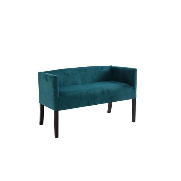 Poter türkiz ülőpad, sötétbarna lábakkal - Custom Form