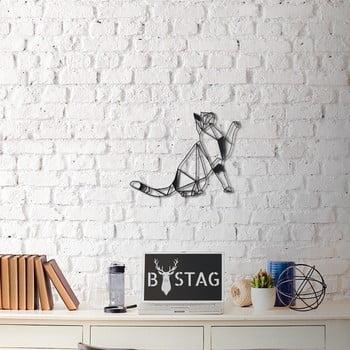 Decorațiune din metal pentru perete Kitty, 36 x 51 cm