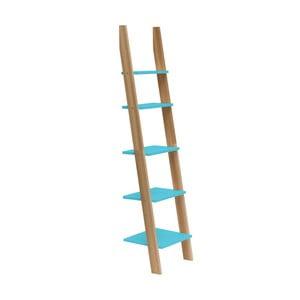 Raft în formă de scară Ragaba ASHME, lățime 45 cm, turcoaz