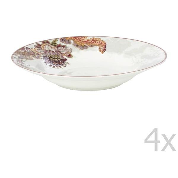 Set 4 talířů Elisabeth, 24,5 cm