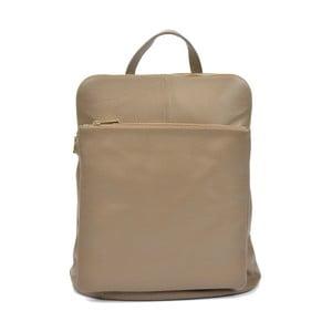Hnědý dámský kožený batoh Isabella Rhea Gunna Fango