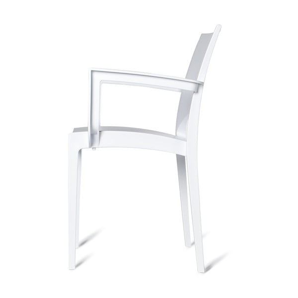 Sada 2 plastových židlí Olbia