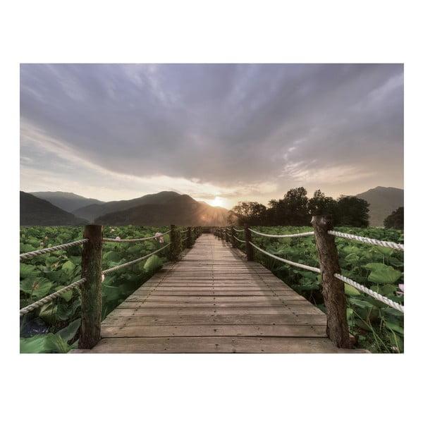 Skleněný obraz Yangpyung Sunset 60x80 cm