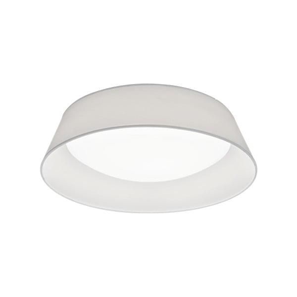 Biała lampa sufitowa LED Trio Ponts, średnica 45 cm