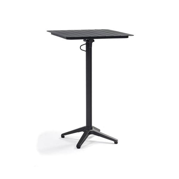 Černý hliníkový zahradní barový stolek Ezeis Spring