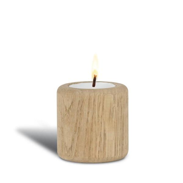 Dubový svícen Baldur, 6 cm