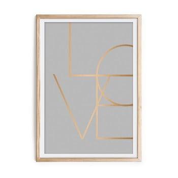 Tablou Velvet Atelier Love, 60 x 40 cm