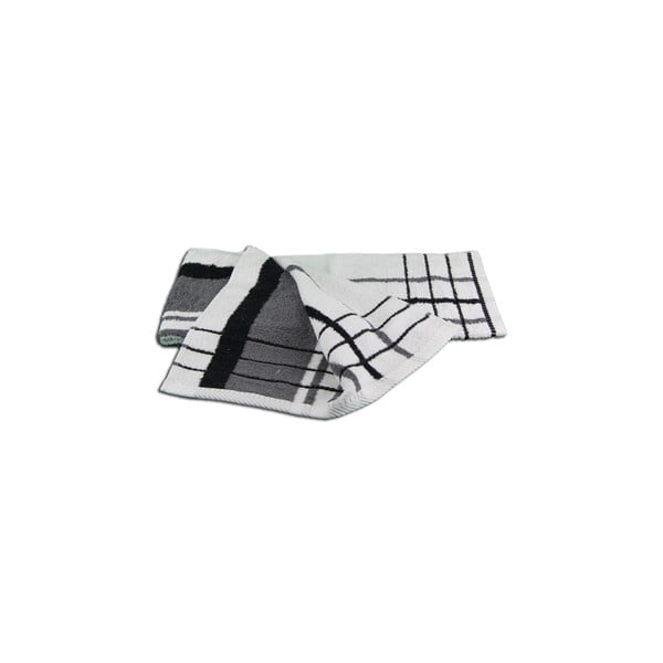Osuška Berlin Antracite/Black, 50x100 cm