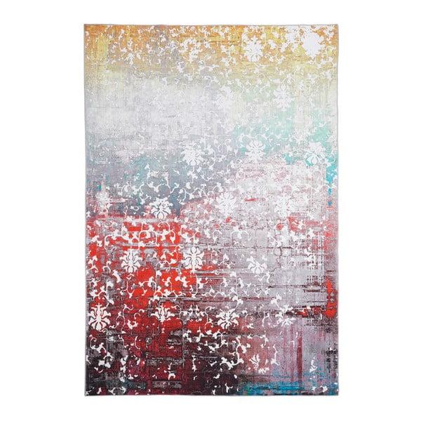Koberec odolný proti skvrnám Floorita Paparazzi Multi, 80x150cm