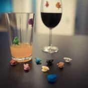 Odlišovače na skleničky Wine Charms People