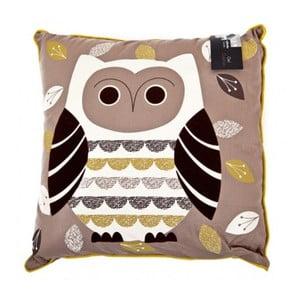 Polštář Owl, 43x43 cm