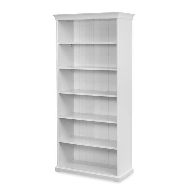 Bílá knihovna Dřevotvar Ella
