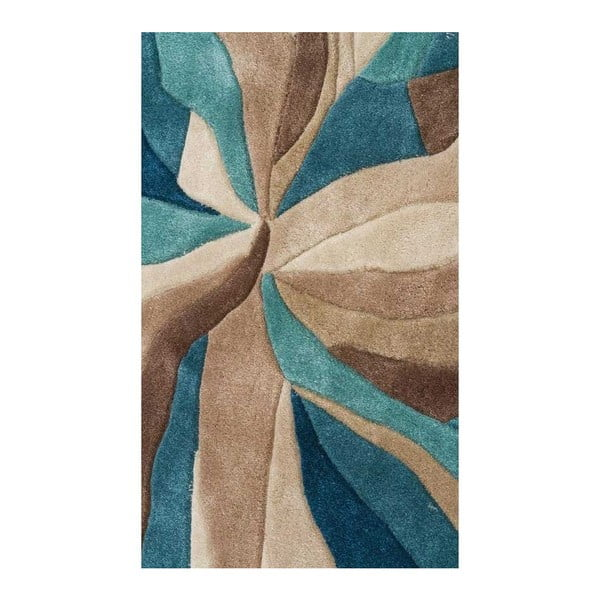 Covor Flair Rugs Splinter Teal, 160 x 220 cm